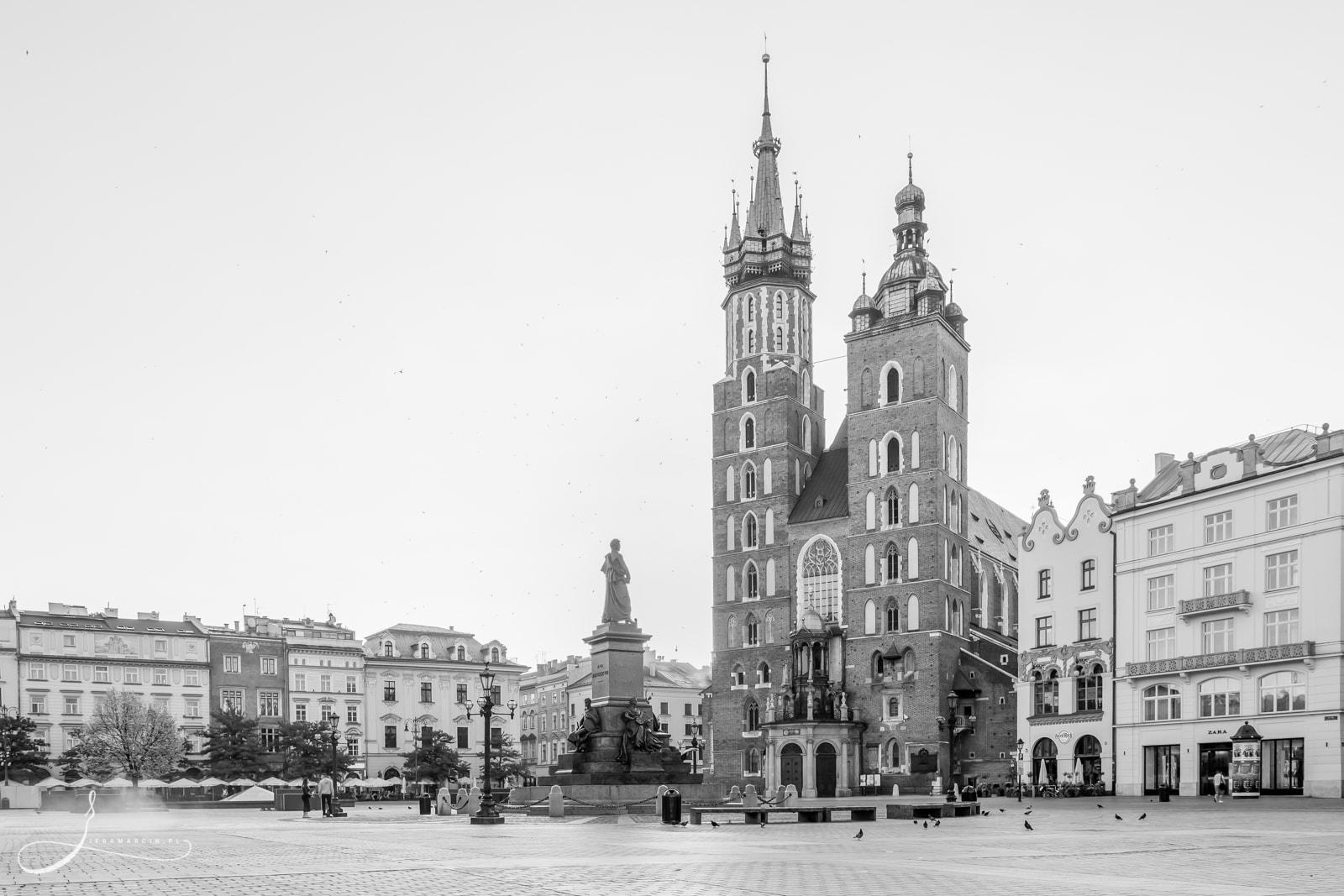 Kościół Mariacki zwany także Bazyliką Mariacką w Krakowie