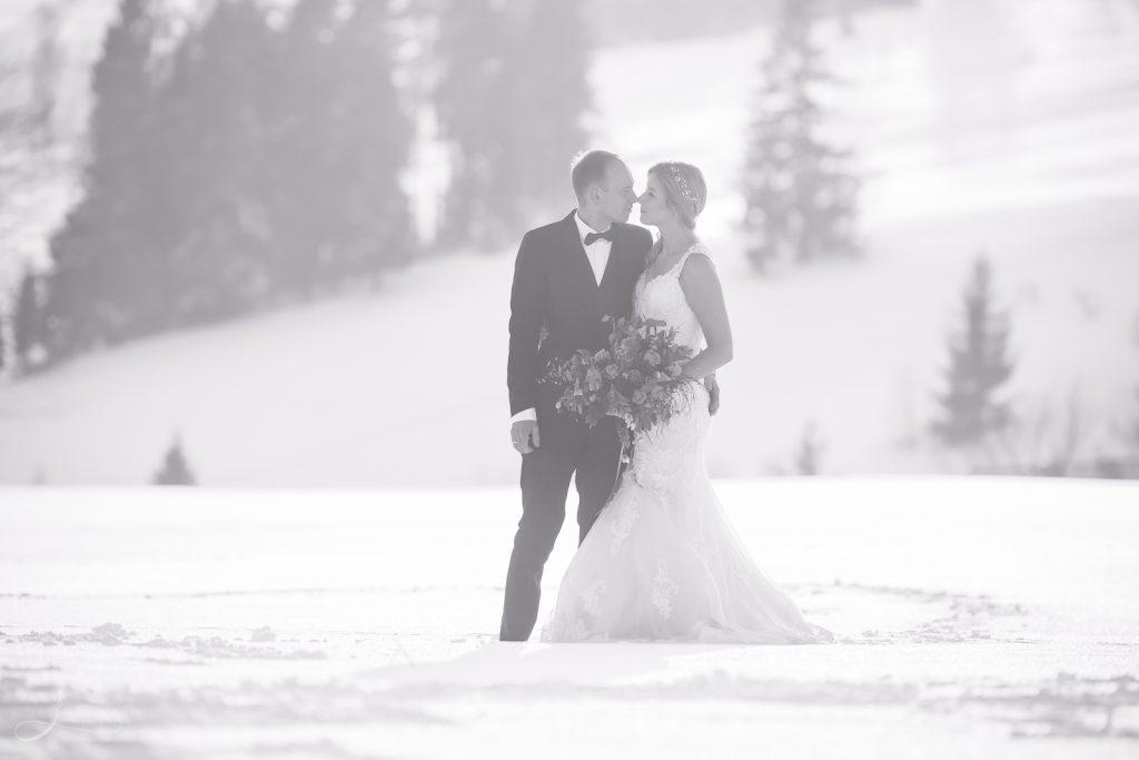 Zimowy plener ślubny, Tatry