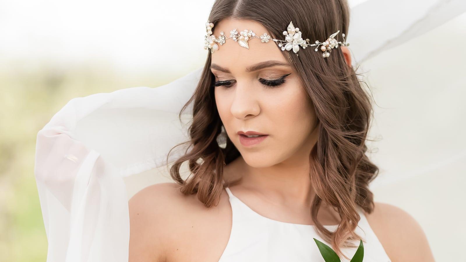 Marlena Szczepańska, sesja ślubna w kwitnącym sadzie