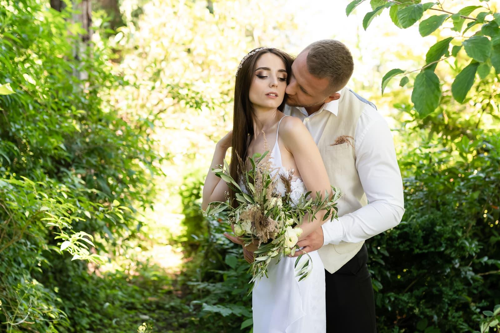 Sesja ślubna w Lanckoronie, Ela & Denis