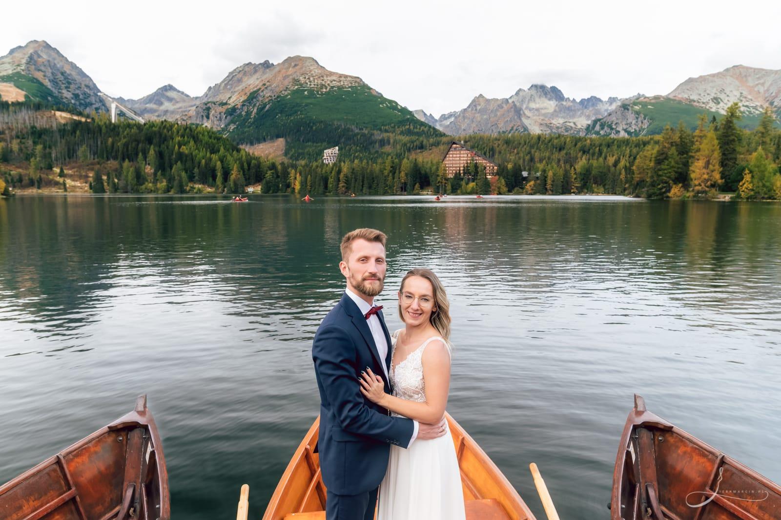 Sesja ślubna Szczyrbskie Jezioro, Słowacja