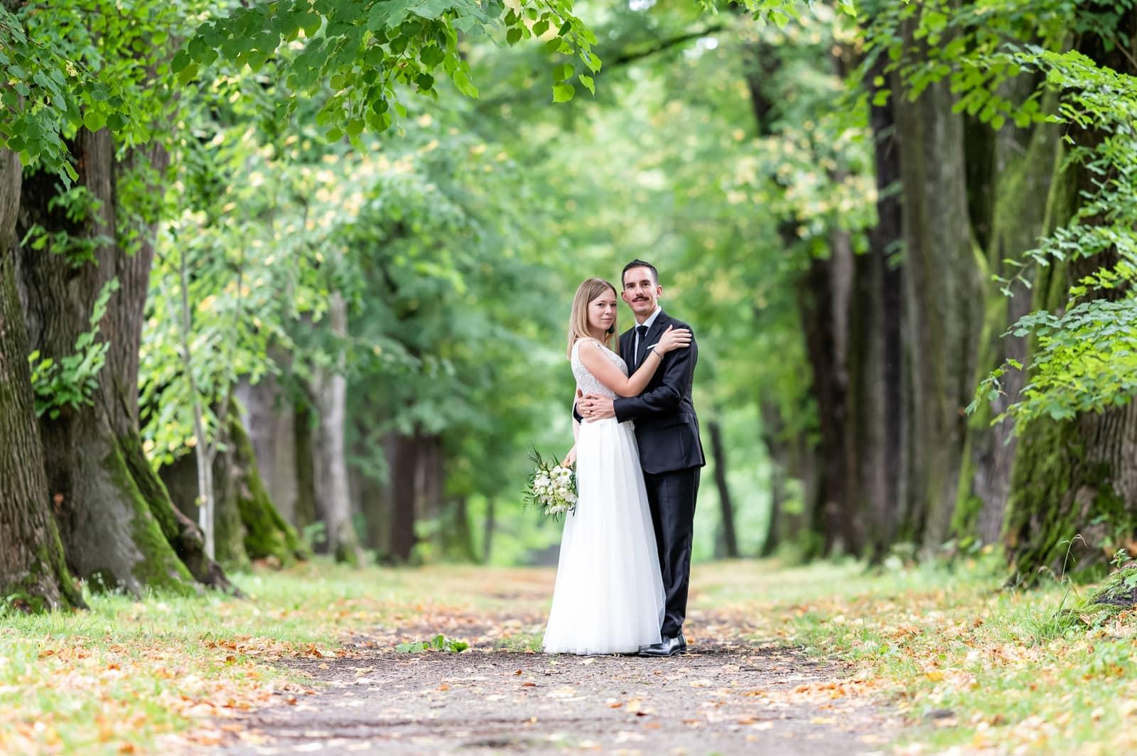 Miejsce na plener ślubny Dukla, Park Pałacowy