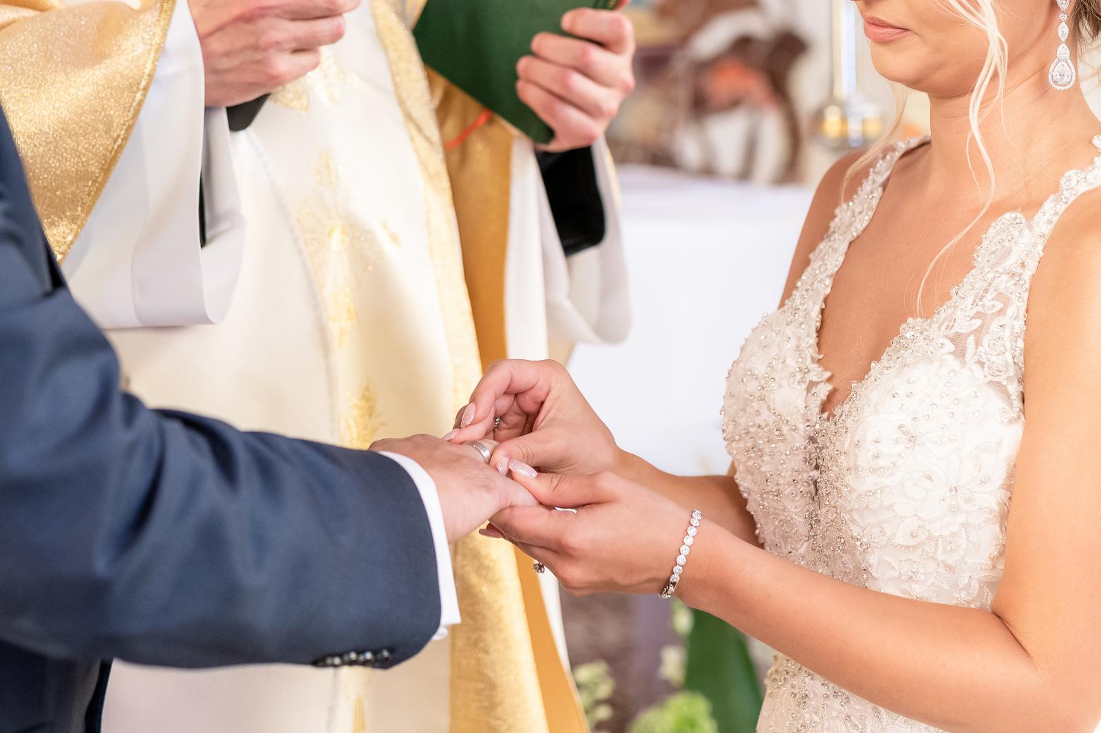 Ceremonia ślubna Kasi i Krystiana, Nieczajna Górna