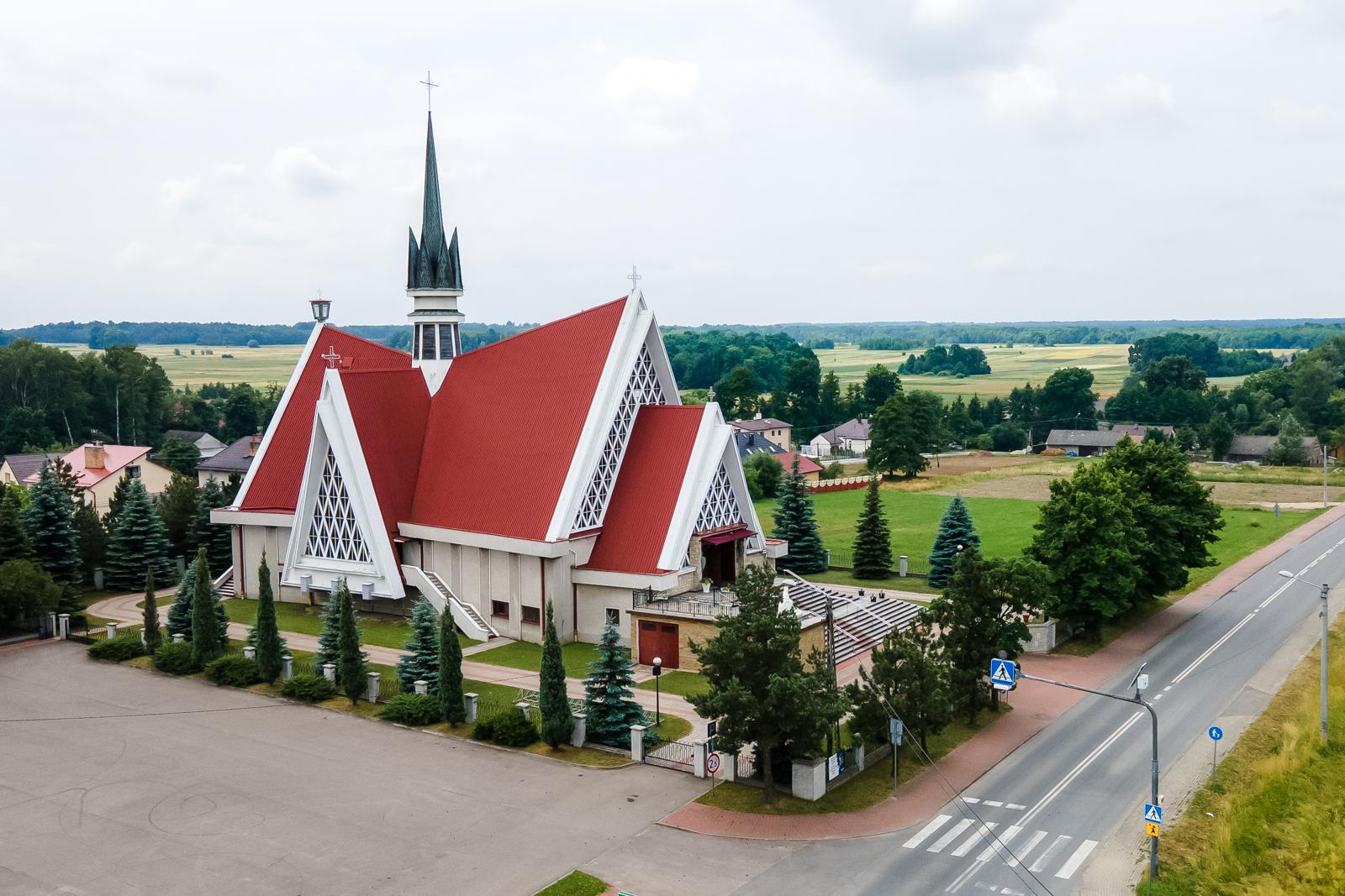 Kościół Siedmiu Boleści Najświętszej Maryi Panny, Nieczajna Górna